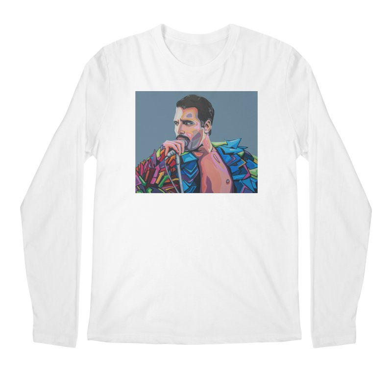 Freddie Men's Regular Longsleeve T-Shirt by Carla Mooking Artist Shop