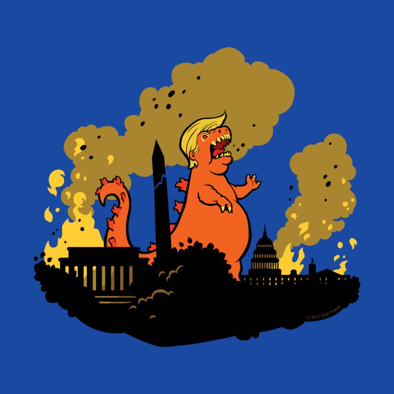 Trumpzilla - no background by Carl Frank's Artist Shop
