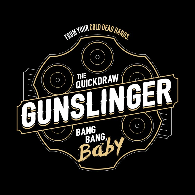 D&D Gunslinger Men's T-Shirt by Natural 20 Shirts