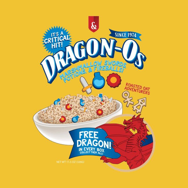 D&D Dragon Cereal O's Men's V-Neck by Natural 20 Shirts