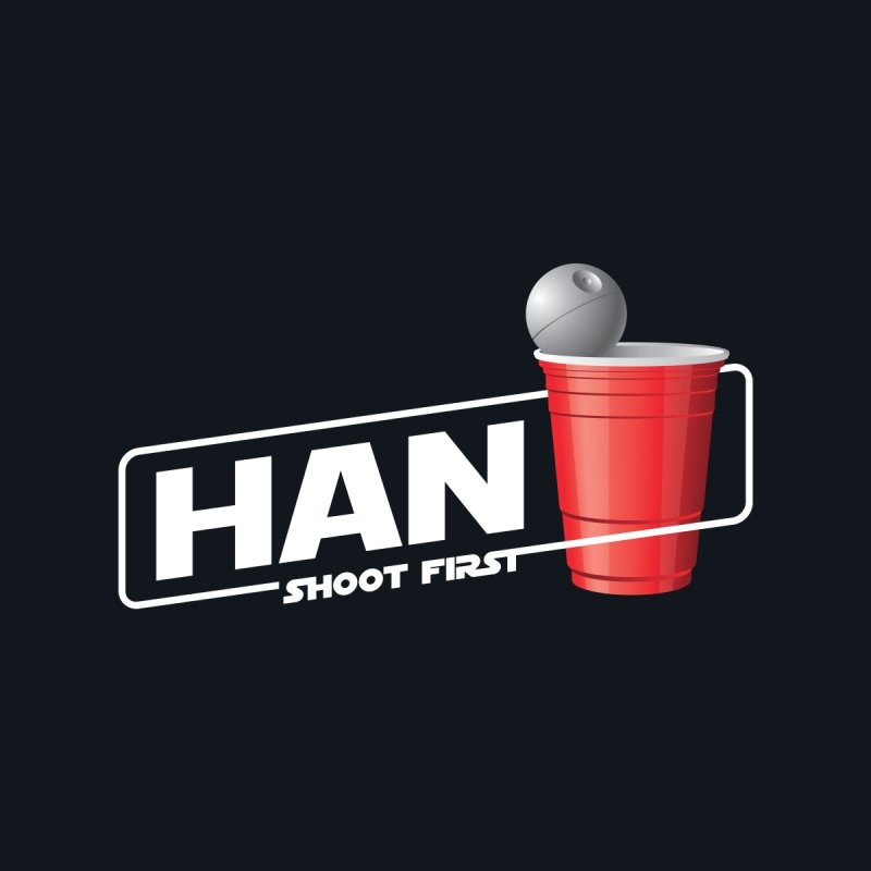 Han Solo Cup by Carl Huber's Artist Shop