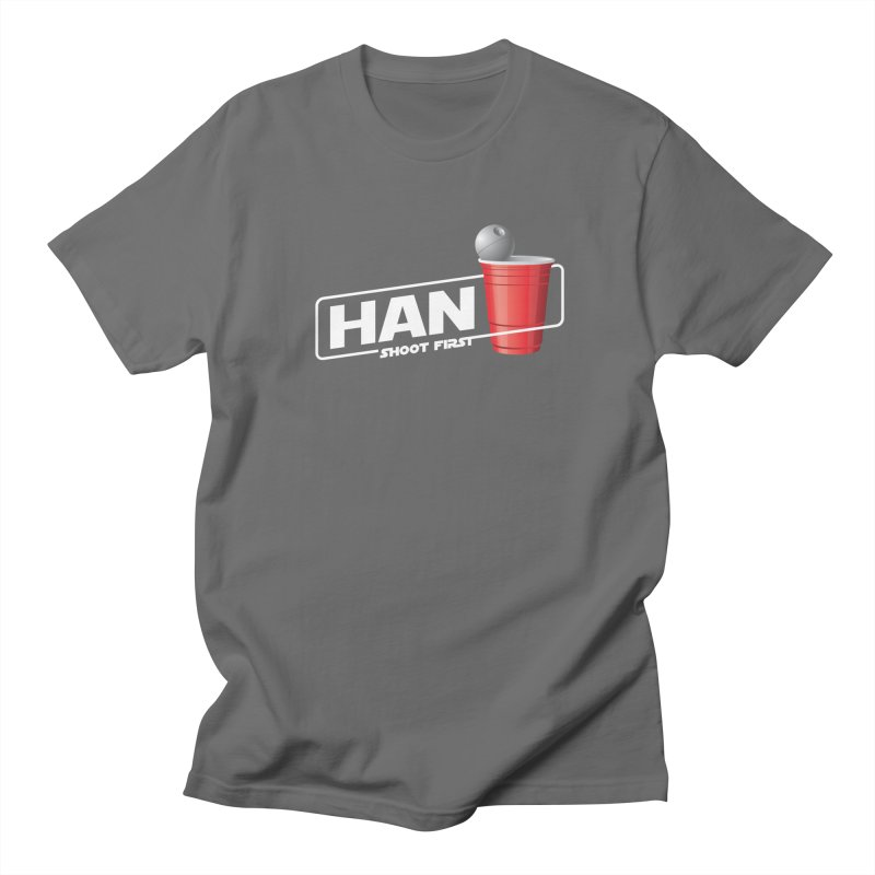 Han Solo Cup Men's T-Shirt by carlhuber's Artist Shop