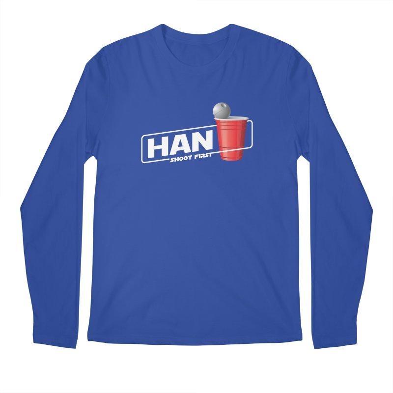 Han Solo Cup Men's Longsleeve T-Shirt by carlhuber's Artist Shop