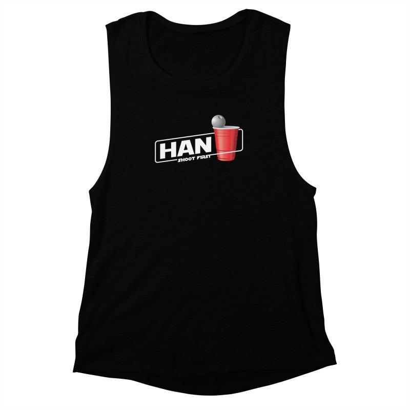 Han Solo Cup Women's Muscle Tank by carlhuber's Artist Shop