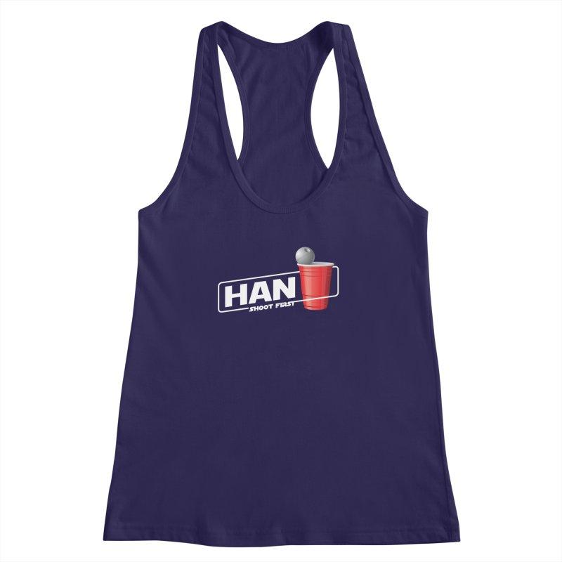 Han Solo Cup Women's Racerback Tank by carlhuber's Artist Shop