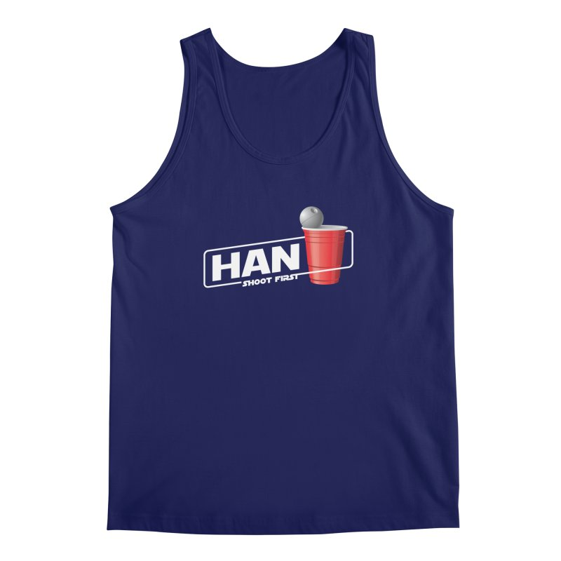 Han Solo Cup Men's Tank by carlhuber's Artist Shop