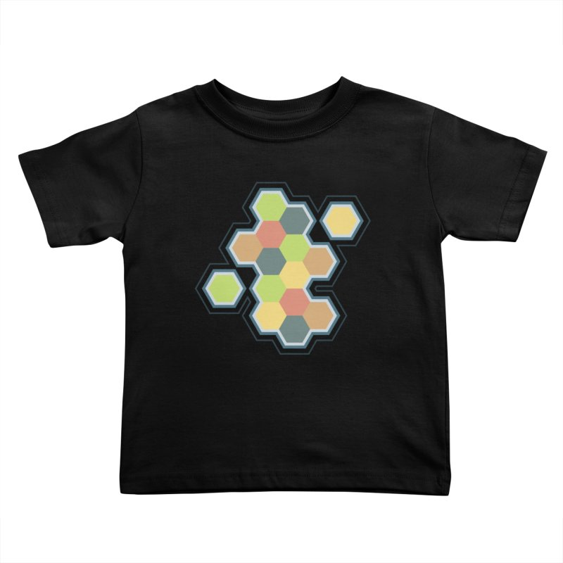 Boardgames Settlers of Catan Tribute Kids Toddler T-Shirt by carlhuber's Artist Shop