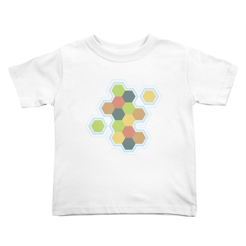 Boardgames Settlers of Catan Tribute Kids Toddler T-Shirt by Carl Huber's Artist Shop
