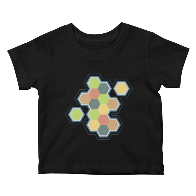 Boardgames Settlers of Catan Tribute Kids Baby T-Shirt by carlhuber's Artist Shop