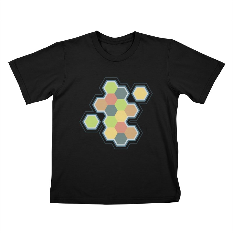 Boardgames Settlers of Catan Tribute Kids T-Shirt by carlhuber's Artist Shop
