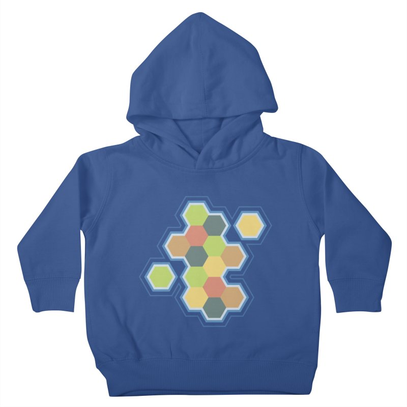Boardgames Settlers of Catan Tribute Kids Toddler Pullover Hoody by Carl Huber's Artist Shop