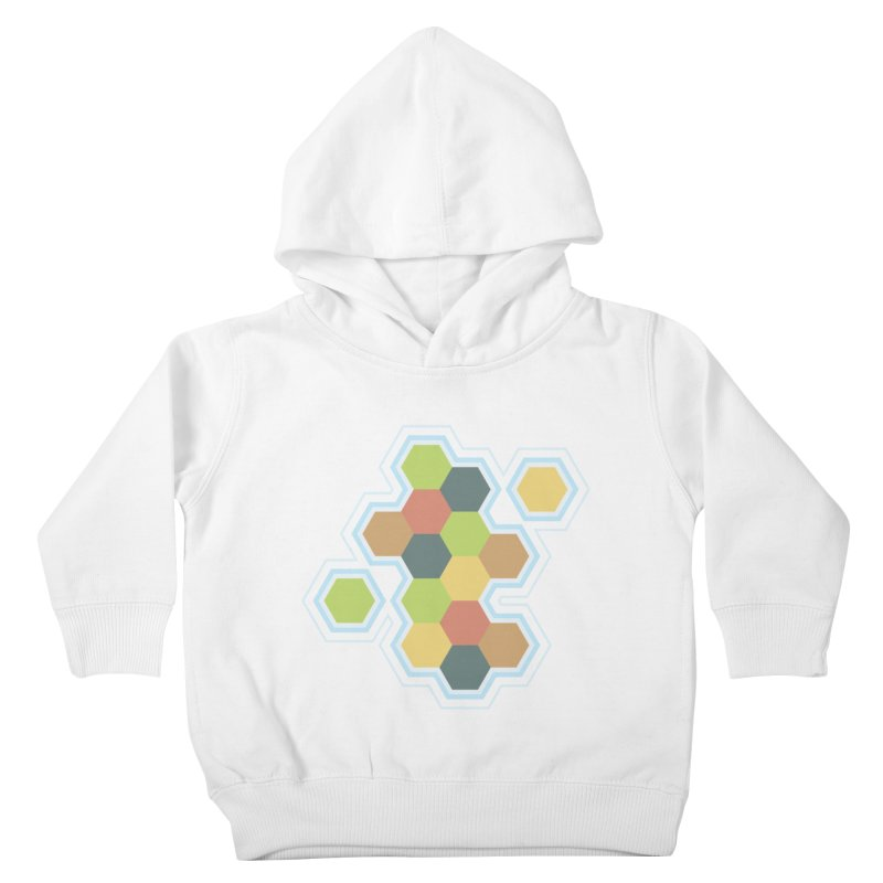 Boardgames Settlers of Catan Tribute Kids Toddler Pullover Hoody by carlhuber's Artist Shop