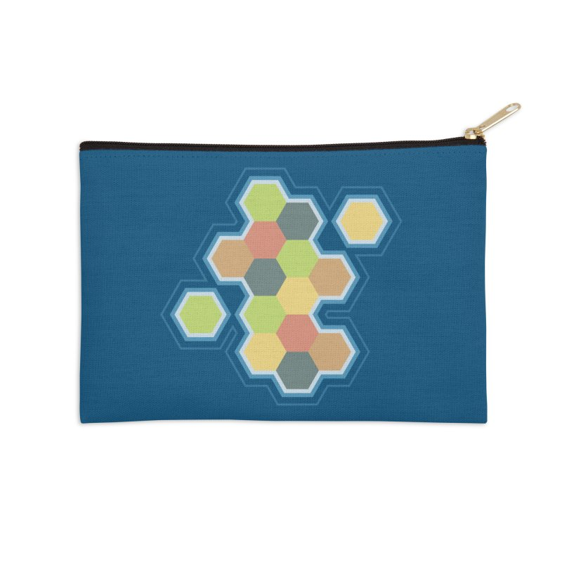 Boardgames Settlers of Catan Tribute Accessories Zip Pouch by carlhuber's Artist Shop