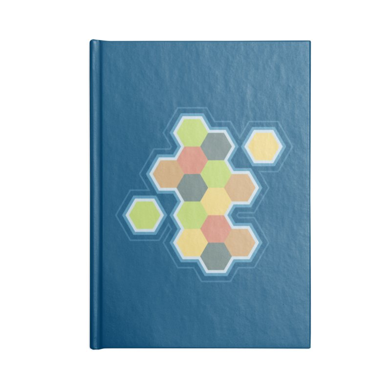 Boardgames Settlers of Catan Tribute Accessories Notebook by carlhuber's Artist Shop