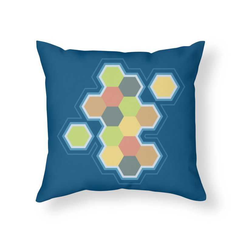 Boardgames Settlers of Catan Tribute Home Throw Pillow by carlhuber's Artist Shop
