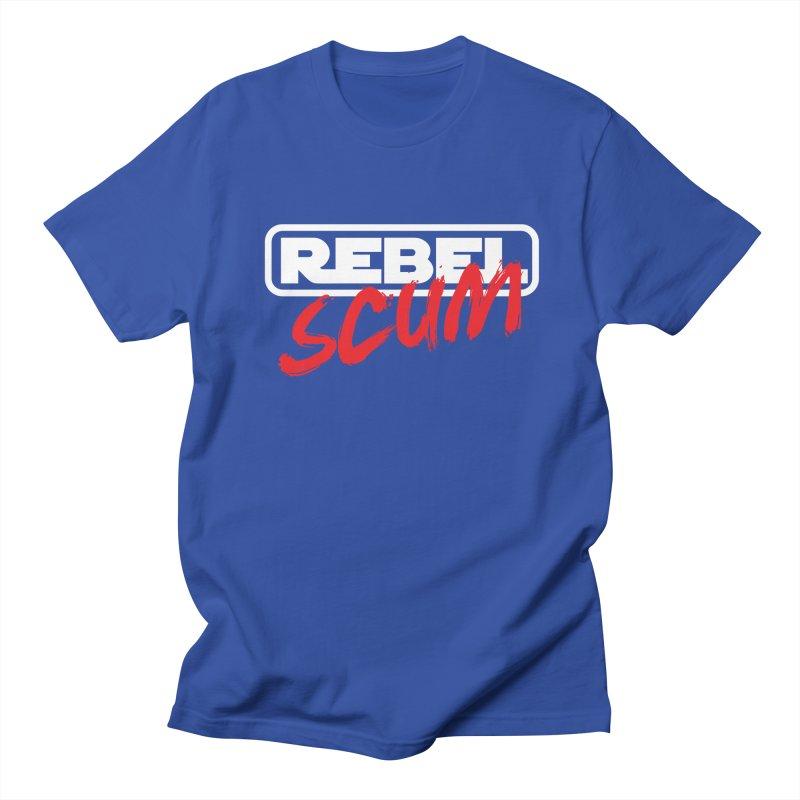 Rebel Scum Star Wars Men's T-Shirt by carlhuber's Artist Shop