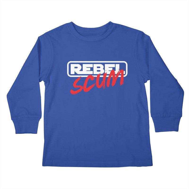 Rebel Scum Star Wars Kids Longsleeve T-Shirt by carlhuber's Artist Shop