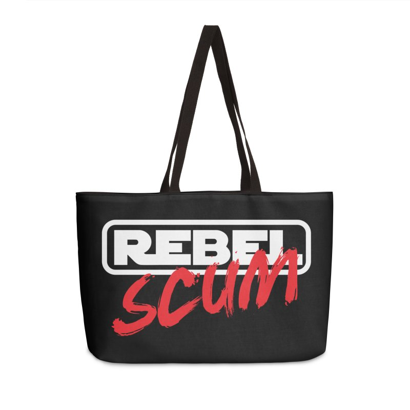 Rebel Scum Star Wars Accessories Weekender Bag Bag by Carl Huber's Artist Shop