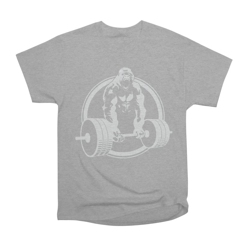 Gorilla Lifting Fitness Gym Tee Women's Classic Unisex T-Shirt by carlhuber's Artist Shop
