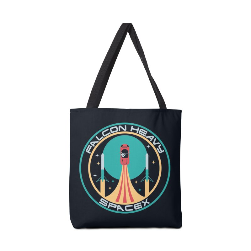 Falcon Heavy SpaceX Accessories Bag by carlhuber's Artist Shop