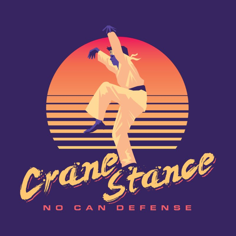 Karate Kid Synthwave - No Can Defense by carlhuber's Artist Shop