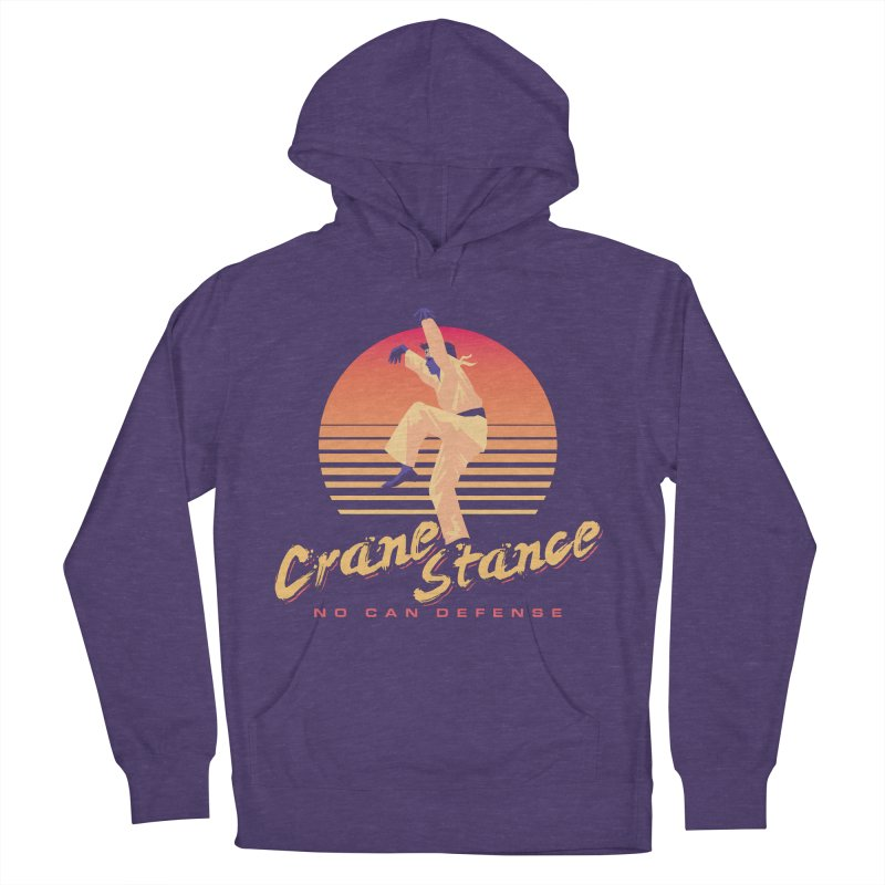 Karate Kid Synthwave - No Can Defense Women's Pullover Hoody by carlhuber's Artist Shop