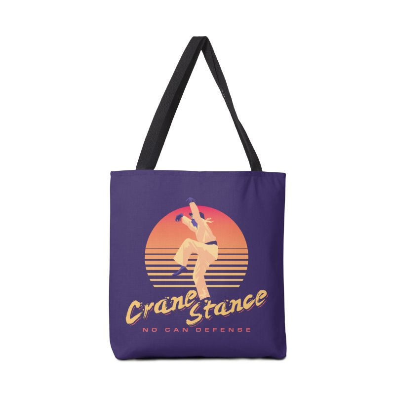 Karate Kid Synthwave - No Can Defense Accessories Bag by carlhuber's Artist Shop