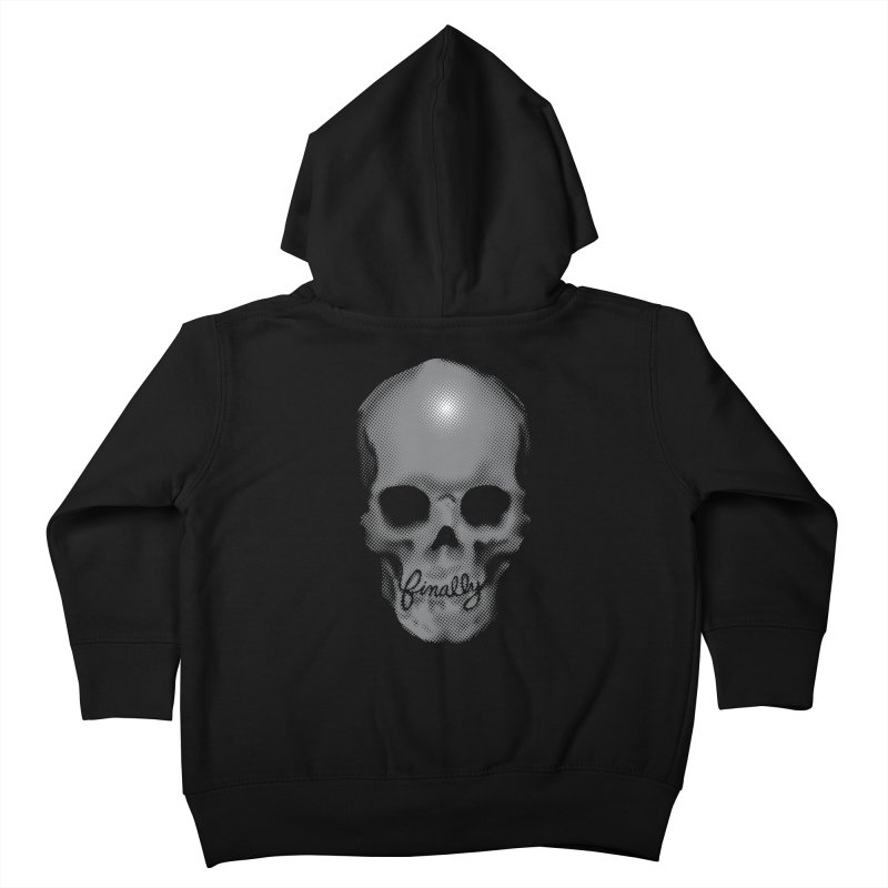 Finally Skull Kids Toddler Zip-Up Hoody by carlhuber's Artist Shop