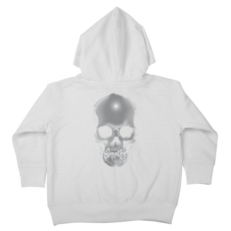 Finally Skull Kids Toddler Zip-Up Hoody by carlhuber's Artist Shop