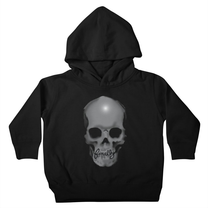 Finally Skull Kids Toddler Pullover Hoody by Carl Huber's Artist Shop