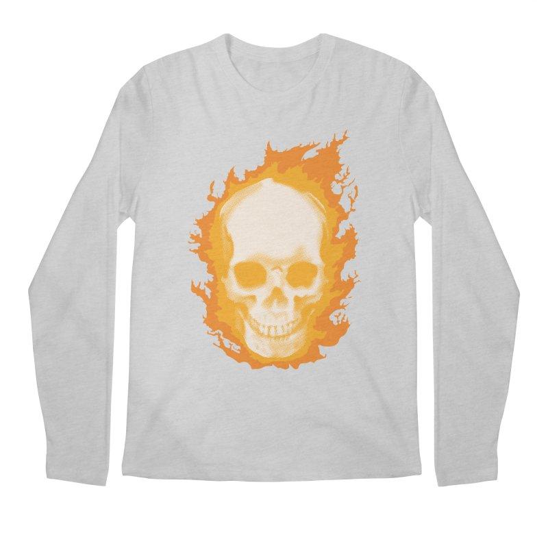 Ghost Skull Men's Longsleeve T-Shirt by carlhuber's Artist Shop