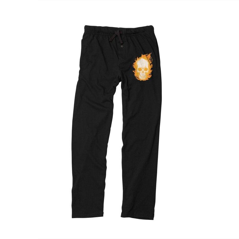Ghost Skull Women's Lounge Pants by carlhuber's Artist Shop