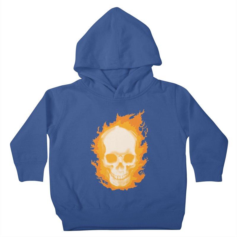 Ghost Skull Kids Toddler Pullover Hoody by carlhuber's Artist Shop