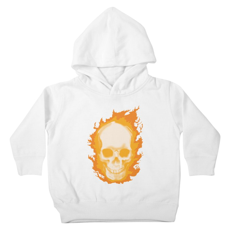 Ghost Skull Kids Toddler Pullover Hoody by Carl Huber's Artist Shop
