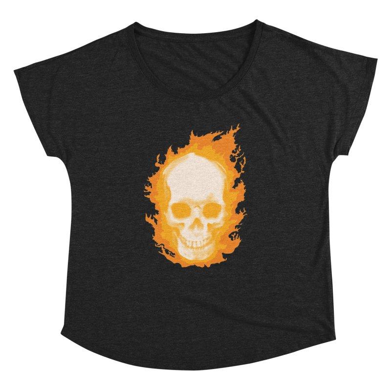 Ghost Skull Women's Dolman by carlhuber's Artist Shop