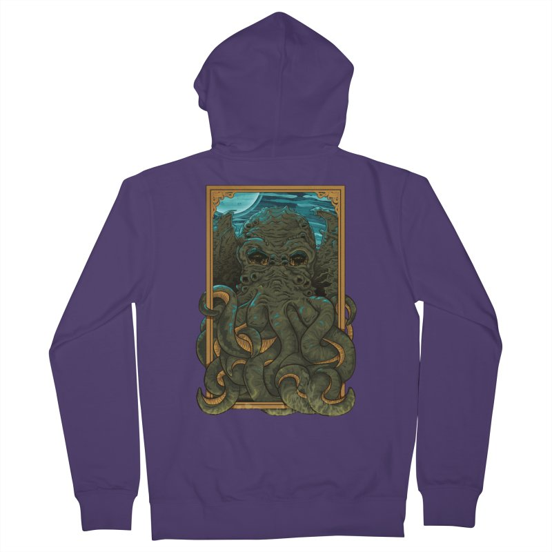 Answer the Call of Cthulhu Women's Zip-Up Hoody by carlhuber's Artist Shop