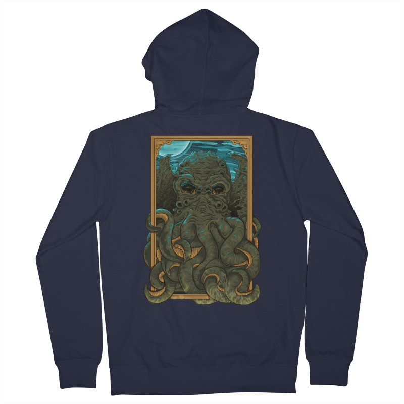 Answer the Call of Cthulhu Women's French Terry Zip-Up Hoody by carlhuber's Artist Shop