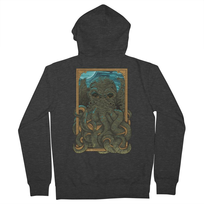 Answer the Call of Cthulhu Men's Zip-Up Hoody by carlhuber's Artist Shop
