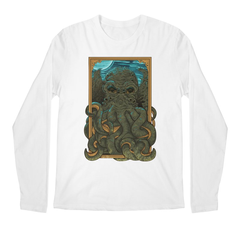 Answer the Call of Cthulhu Men's Longsleeve T-Shirt by carlhuber's Artist Shop