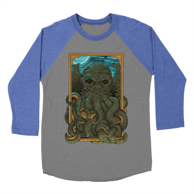 Answer the Call of Cthulhu Men's Baseball Triblend T-Shirt by carlhuber's Artist Shop