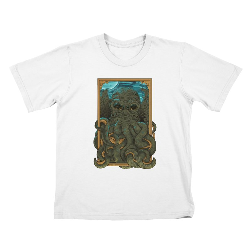 Answer the Call of Cthulhu Kids T-Shirt by carlhuber's Artist Shop