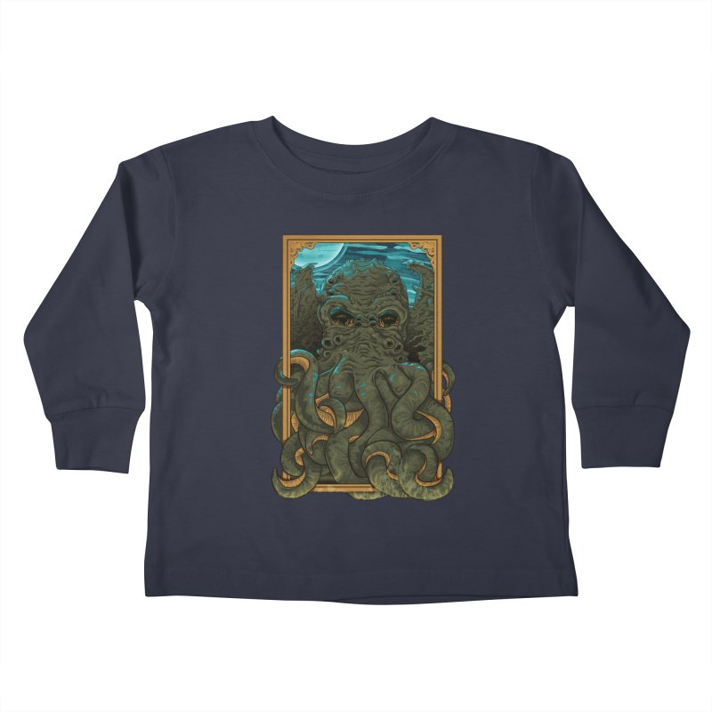 Answer the Call of Cthulhu Kids Toddler Longsleeve T-Shirt by carlhuber's Artist Shop