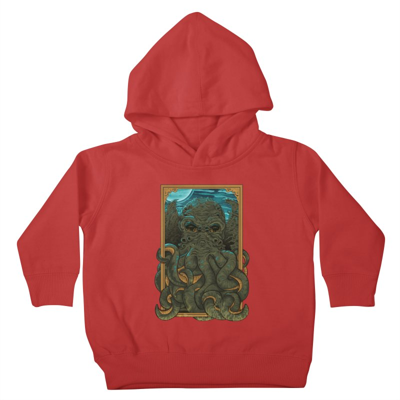 Answer the Call of Cthulhu Kids Toddler Pullover Hoody by carlhuber's Artist Shop