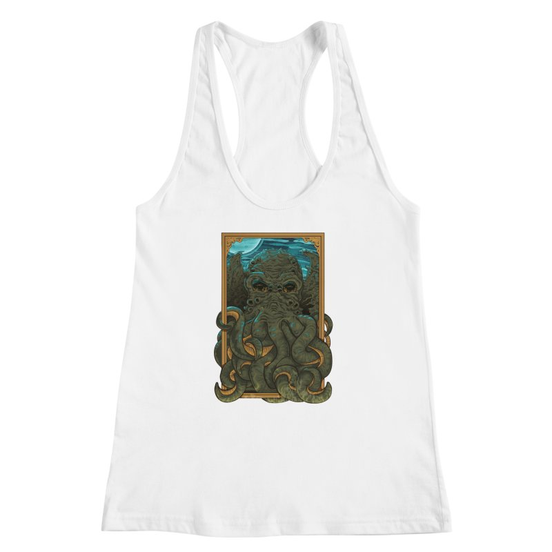 Answer the Call of Cthulhu Women's Racerback Tank by carlhuber's Artist Shop