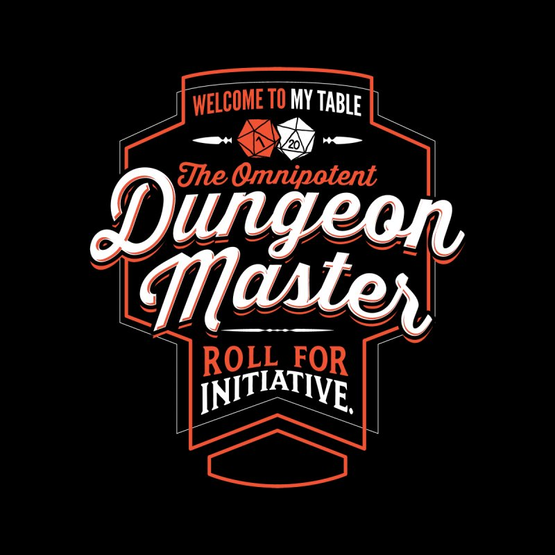 Dungeon Master Dungeons & Dragons Men's T-Shirt by Natural 20 Shirts