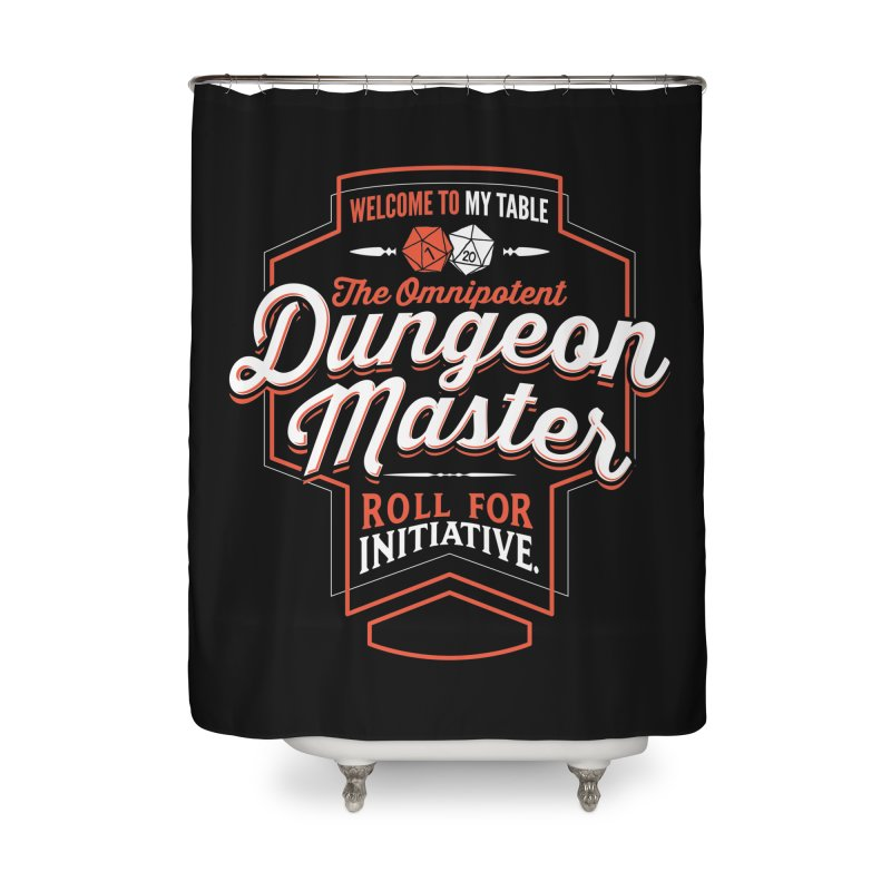 Dungeon Master Dungeons & Dragons Home Shower Curtain by carlhuber's Artist Shop