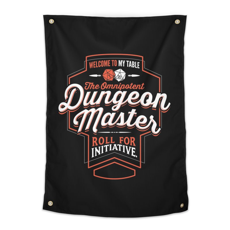 Dungeon Master Dungeons & Dragons Home Tapestry by carlhuber's Artist Shop
