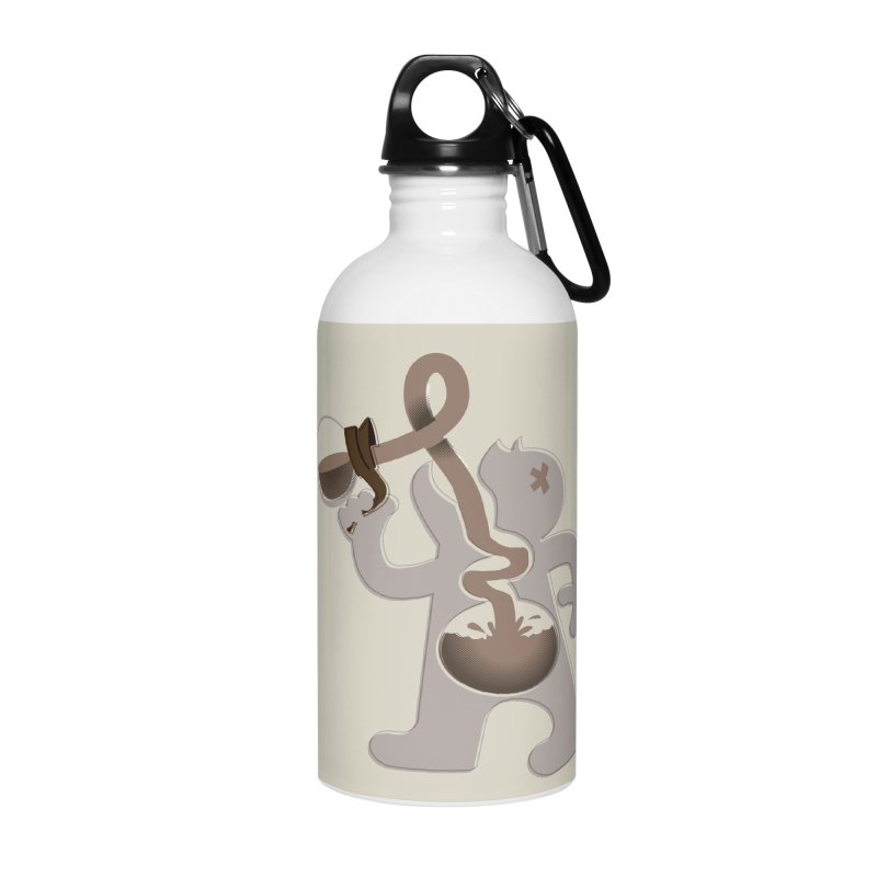 Coffee Man Accessories Water Bottle by Carl Huber's Artist Shop