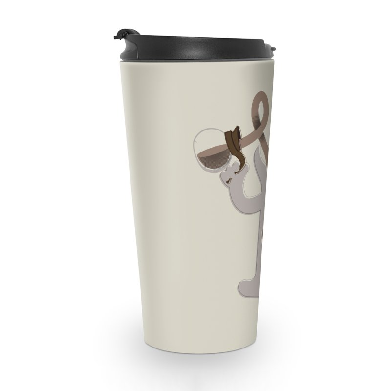 Coffee Man Accessories Travel Mug by Carl Huber's Artist Shop