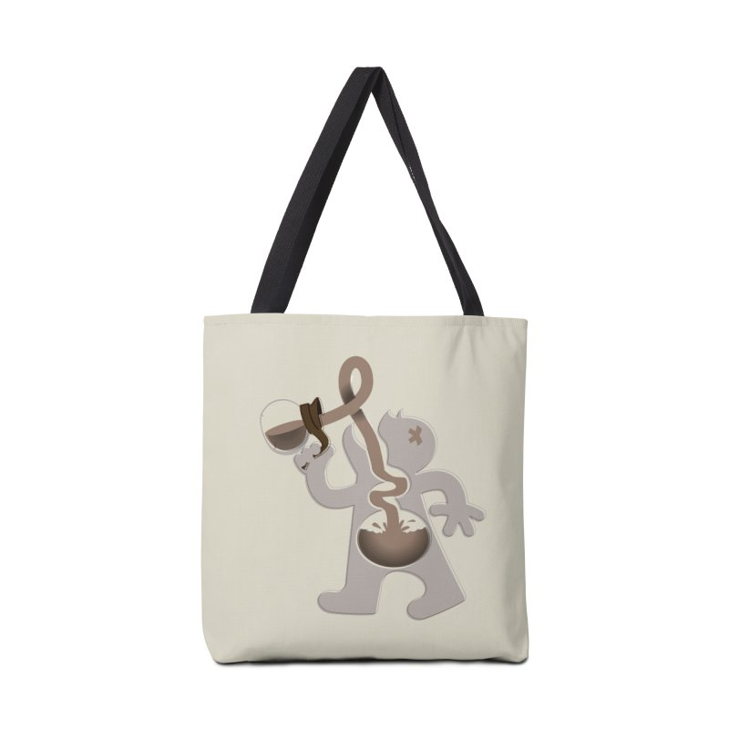 Coffee Man Accessories Bag by carlhuber's Artist Shop